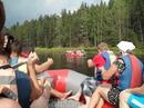 рафтинг по реке Шуя 8км