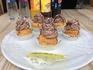 Такие вот чудные пирожные и всего за 50 рублей!))