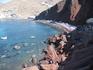 Красный пляж - визитная карточка острова.