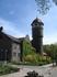 Здание санатория Балтийского флота,что было раньше в башне не знаю, говорят была водонапорная башня.