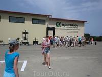 Завод по переработке оливок.