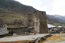 Сванетия. Село Ушгули.