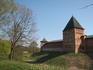 В.Новгород, стены Кремля (ищем вход)