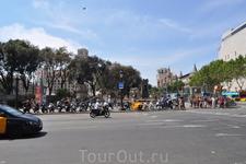 Барселона. площадь Каталунья.