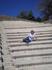 Далее путь лежал в Ялисс. На трибунах амфитеатра. Здесь в древности находился Нижний Акрополь Родоса