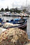 Рыбацкая лодка и сети, Порт-эль-Кантауи