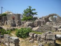 город Кос. Античные развалины