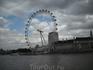 London eye.Фото с берега Темзы.