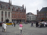 На  Хроте - Маркт,слева  видна часть  Ратуши,справа  крытого рынка.