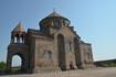 На восточной окраине при въезде в город Вагаршапат, на небольшой возвышенности, стоит церковь Рипсиме