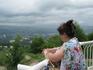 вид на Кисловодск с Голубых гор