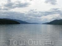 Озеро Лох-Несс.