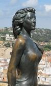 Фотография Статуя актрисы Евы Гарднер