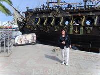 Сусс,прогулочный пиратский кораблик