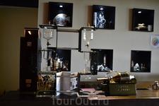 Чудное кафе в музее.