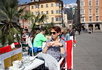 старый город, кафе на Мария-Терезиен-Штрассе