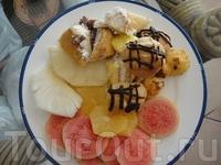 фрукты и сладости