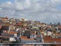 Вид на город со смотровой площадки башни Сен Жюста