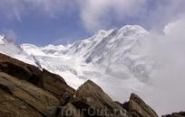 ледник Горнер, вид с гряды Gornergrat