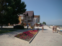 Набережная в Приморско-Ахтарске 2012 г.