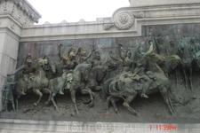 Сан-Паулу. Фрагмент памятника Независимости.
