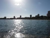 И это снова вид на пляже Магалуфа