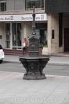 И, конечно же, фонтан. Как же без него на Рамбле?