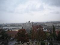 Вид на Дунай.
