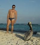 на мексикансокм пляже