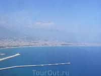 Средиземное море.. вид со скалы Клеопатры