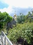 Храм Всех Святых вид от Зала Боевой Славы