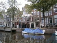 на каналах Амстердама