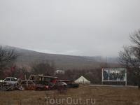 Въезд в Цхинвал со стороны Грузинской границы. После войны 08.08.08