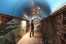 Риомаджоре, тоннель к ЖД вокзалу