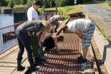 Изучение устройства плотины