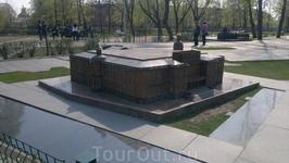 Мини-город в Александровском саду