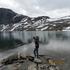 Снега и холод Норвегии..