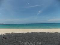юг пляжа Ламай, близко к отелю