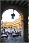 вид на площадь Мэр-де Саламанка...