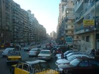 Александрия. Улица от набережной. Жигули.