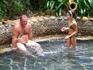 термальные источники - 35 бассейнов с водой разной температуры (от 18 до 53 градусов) и с разными наполнителями (есть с кофе, с травами, с лепестками роз ...