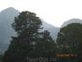 Бельдиби, вид на горы