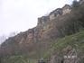 """""""Замок коварства и любви""""; скала с которой (по легенде) прыгнул пастух Али Конов, а невеста его не прыгнула..., правда через 9 дней все же прыгнула - на ..."""