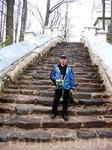 Лестница, ведущая к усадьбе Ганнибалов.
