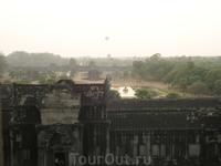 Закат из ангкор Вата