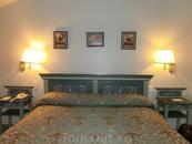 Супер-удобная кровать, которой моя спина была очень благодарна за полноценный отдых.