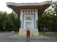 В Юбилейном парке города Феодосии находится фонтан И. К. Айвазовского. Он был сооружён  по проекту и на средства самого великого художника-мариниста И ...