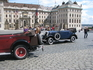 Прогулочные авто у входа в Пражский град