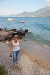 Вода очень теплая.