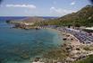 Пляж Ладико на Средиземном море, в окрестностях Фалираки